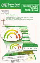 Recibo CFE