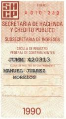 Registro Federal de Contribuyentes (RFC)