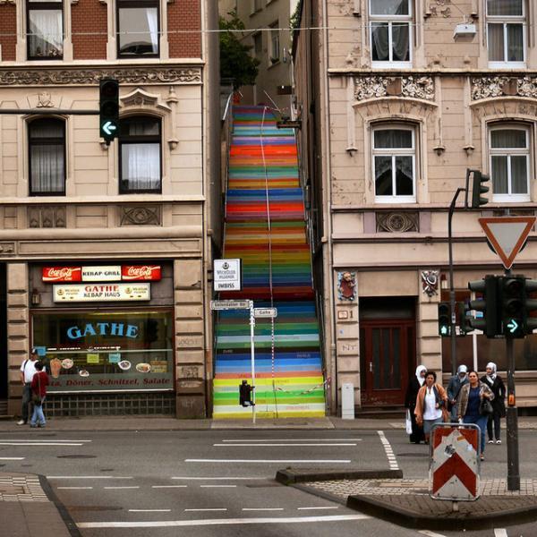 Escaleras en Wuppertal