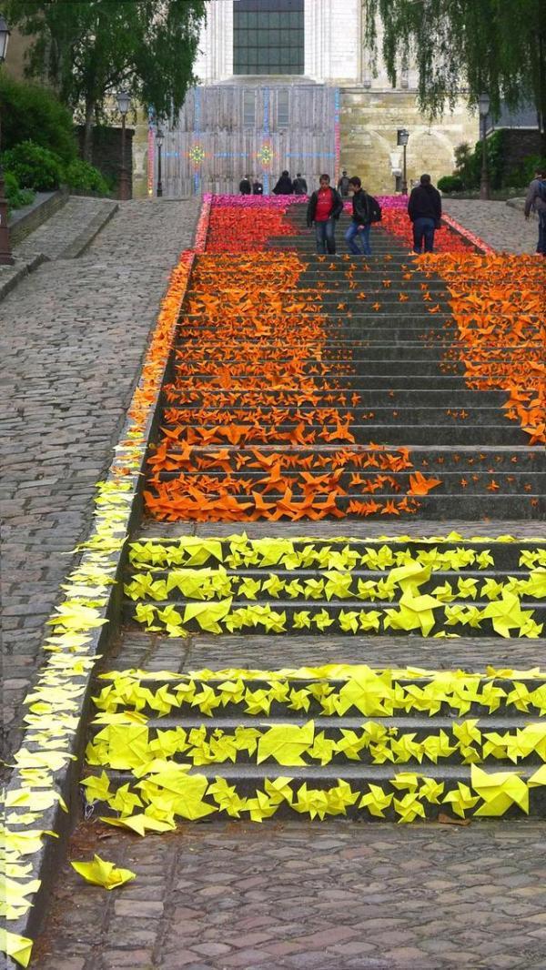 Escaleras en Angers