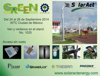 SolarAct presente en The GREEN Expo