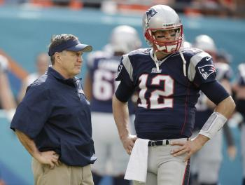 Tom Brady Bill Belichick Patriots