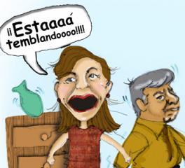 Acaba de temblar en Mendoza?