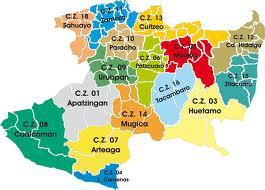 Mapa de Michoacán