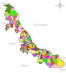 Mapa de Veracruz