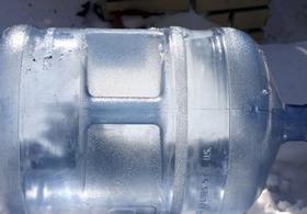 Garrafón de plástico