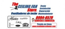The Ceiling Fan Store Ventiladores de techo