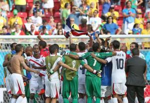 Costa Rica vence a Italia