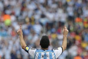 Argentina Nigeria Messi Cielo