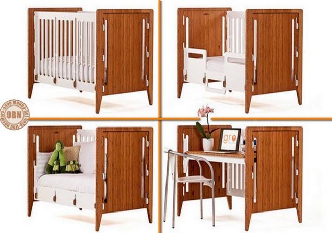 Increíbles muebles que te ahorrarán mucho espacio | QuimiNet.com