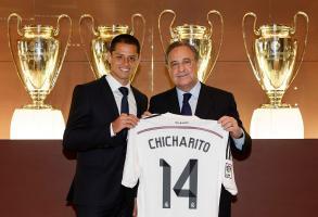 Chicharito Madrid