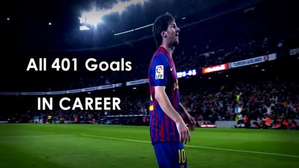 Messi 401 Goles YouTube