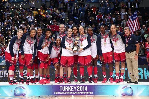 Selección femenil de basquetbol EUA