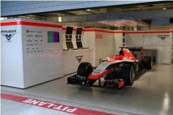 Automóvil de Jules Bianchi.