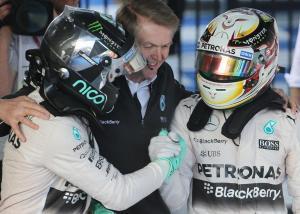 Mercedes F1 GP Australia 2015
