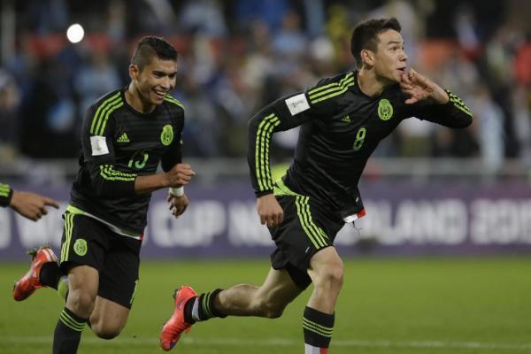 Hirving Lozano Selección Mexicana Sub 20