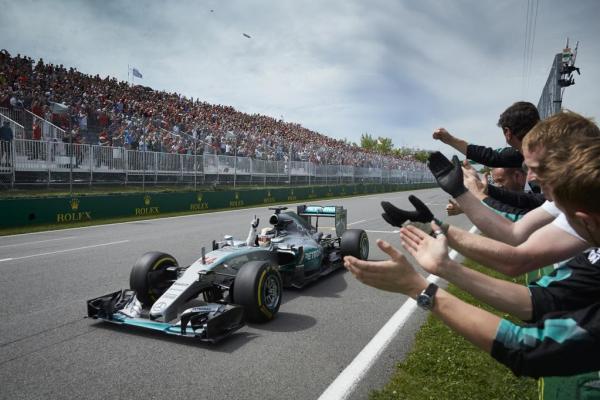 Lewis Hamilton Formula 1 GP Canada