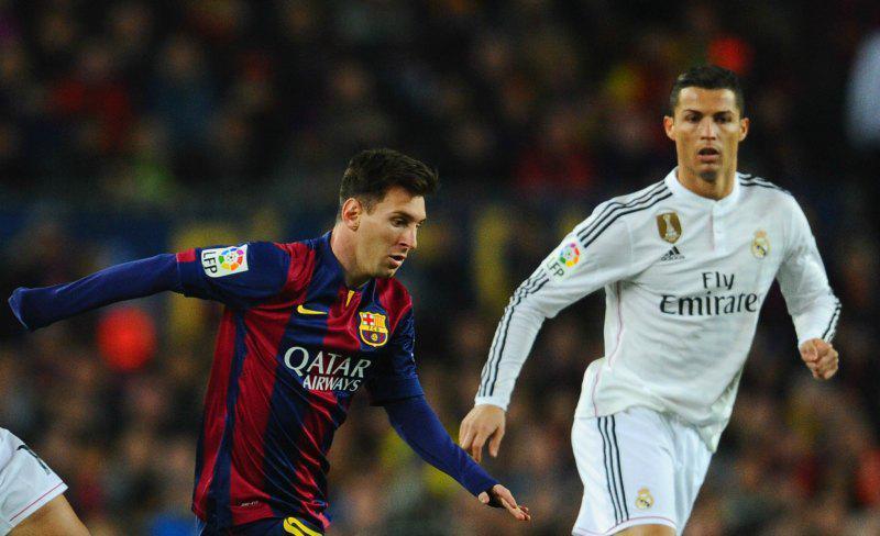 Lio Messi Cristiano Ronaldo