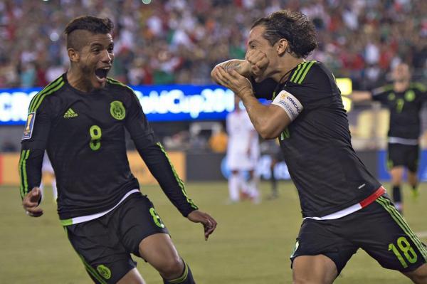 Andrés Guardado Jonathan Dos Santos Selección Mexicana
