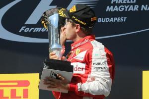 Sebastian Vettel Ferrari GP Hungria