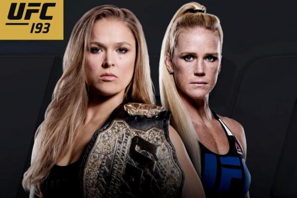 UFC 193 Ronda Rousey
