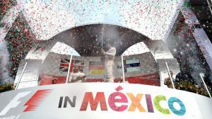 Podio Gran Premio de México F1
