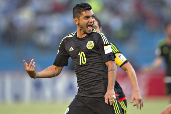 Tecatito Corona Selección Mexicana