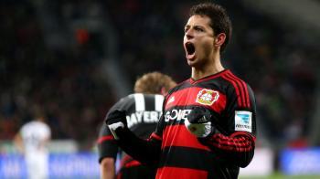 Javier Chicharito Hernandez Bayer Leverkusen