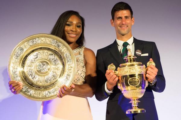 Novak Djokovic Serena Williams