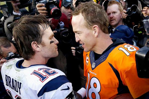 Tom Brady vs. Peyton Manning
