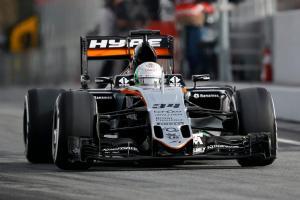 Force India Fórmula 1 Alfonso Celis
