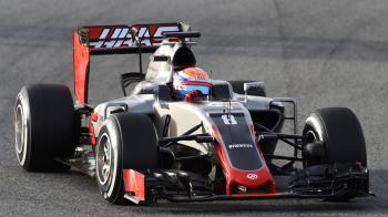Haas Fórmila 1 Romain Grosjean