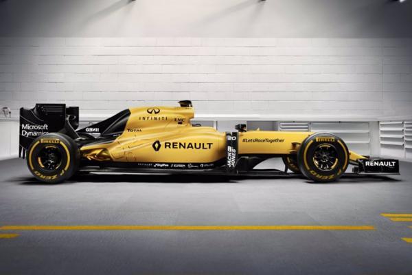 Renault F1 RS16 Fórmula 1