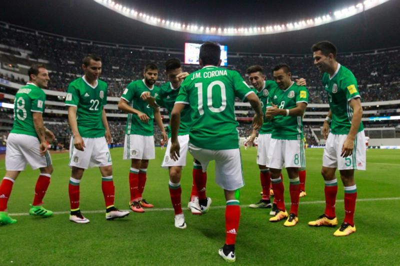 Selección Mexicana Tecatito Corona