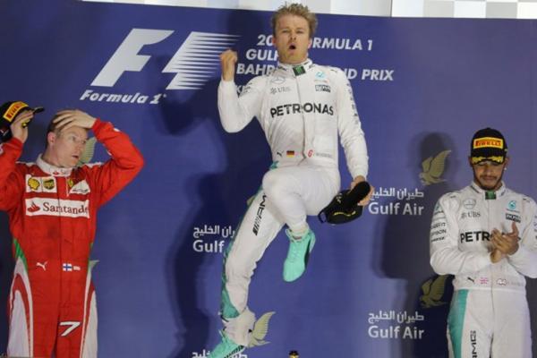 Nico Rosberg Gran Premio Barein Formula 1