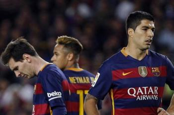 Lionel Messi Luis Suárez Neymar Barcelona