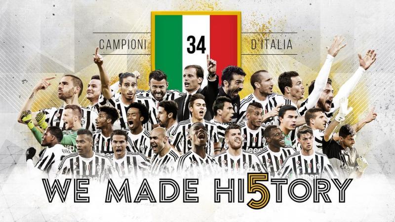 Juventus Campeon Serie A