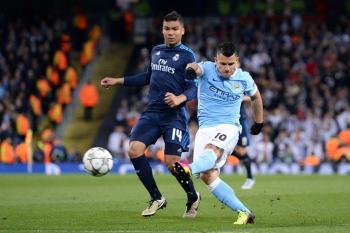 Real Madrid Manchester City Kun Agüero