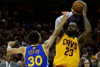 Cleveland Cavaliers Golden State Warriors Stephen Curry LeBron James