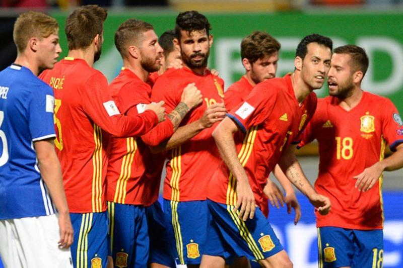 Diego Costa, David Silva y Álvaro Morata se lucieron con dobletes en la goleada.