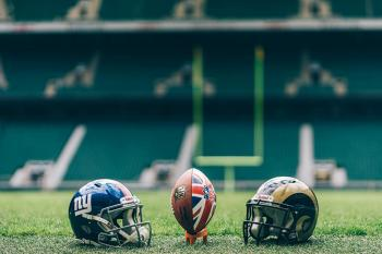 New York Giants Los Angeles Rams Londres