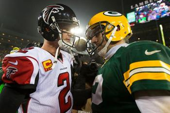 Matt Ryan Falcons Aaron Rogers Packers