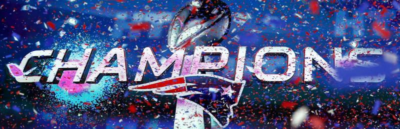VLD Pleca - Super Bowl LI New England Patriots