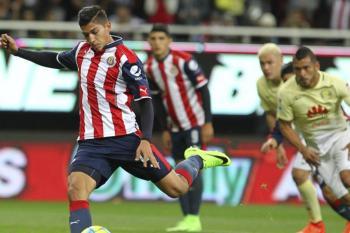 Ángel Zaldivar Chivas Guadalajara Águilas América
