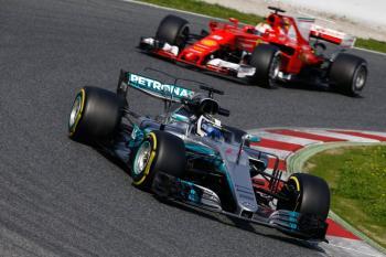 Mercedes y Ferrari han dominado las primeras pruebas