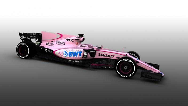 Force India VJM10 Fórmula 1 2017