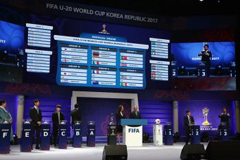 Sorteo Mundial Sub-20 Corea del Sur