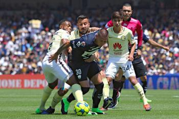Nicolás Castillo Pumas UNAM Águilas América