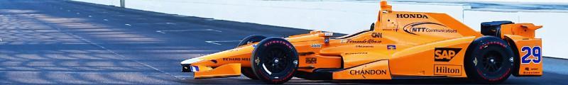 Fernando Alonso Indy 500 Pleca