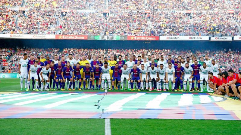 Barcelona Chapecoense